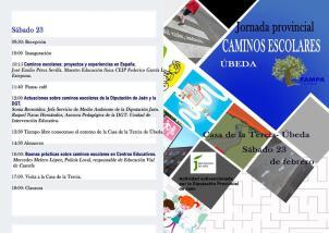 Jornada Provincial Caminos EScolares ÚBEDA